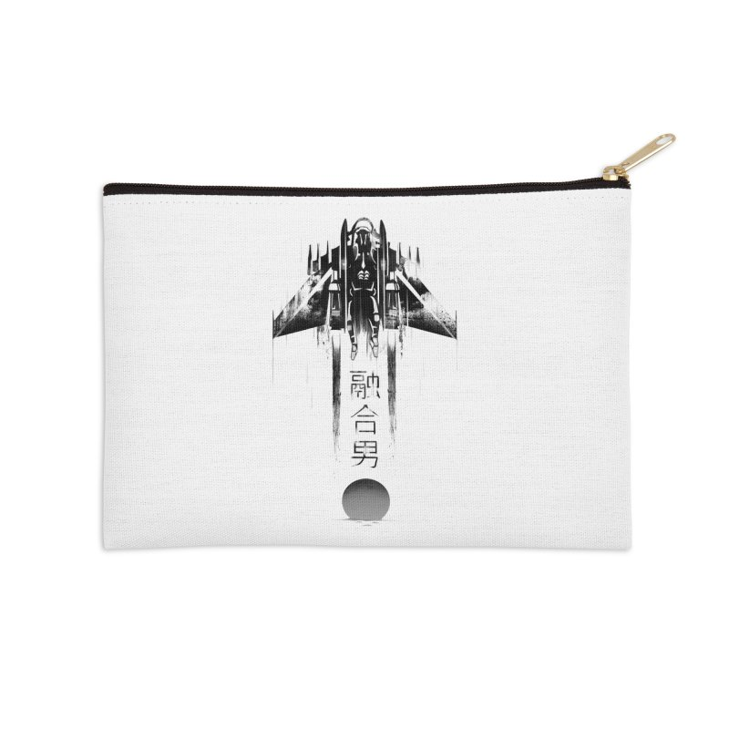 Fusionman - LoFi Edition Accessories Zip Pouch by Dega Studios