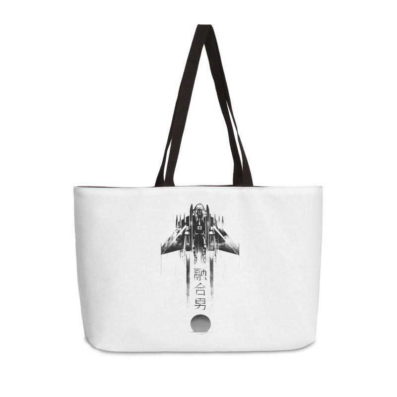 Fusionman - LoFi Edition Accessories Weekender Bag Bag by Dega Studios