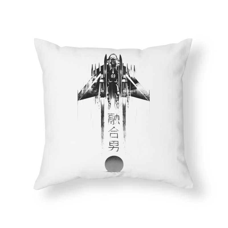 Fusionman - LoFi Edition Home Throw Pillow by Dega Studios
