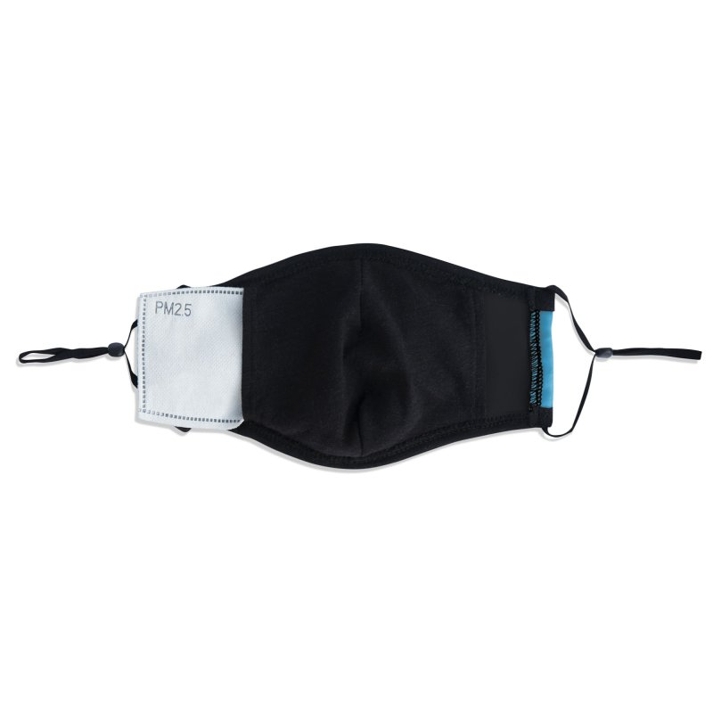 Alpha Tester Accessories Face Mask by Dega Studios