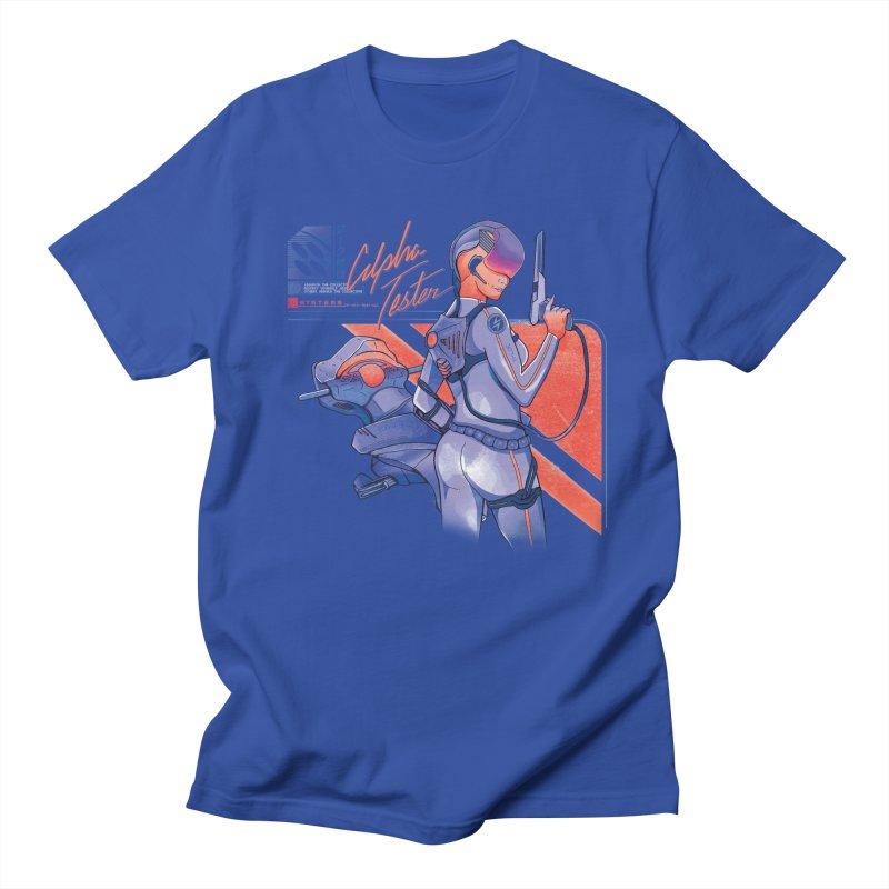 Alpha Tester Men's T-Shirt by Dega Studios