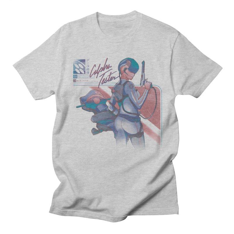 Alpha Tester Women's Regular Unisex T-Shirt by Dega Studios