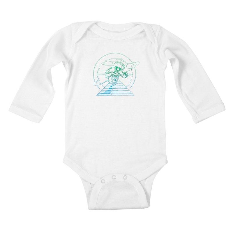 Coming Home Kids Baby Longsleeve Bodysuit by Dega Studios