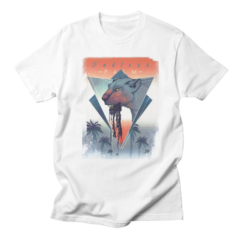 Endless Palm Men's T-Shirt by Dega Studios