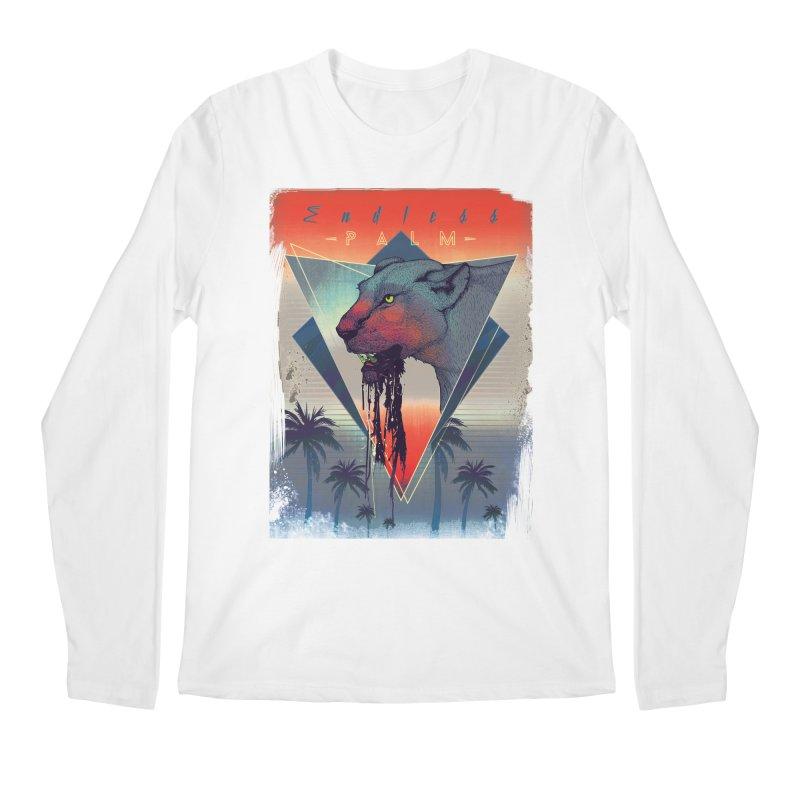 Endless Palm Men's Longsleeve T-Shirt by Dega Studios