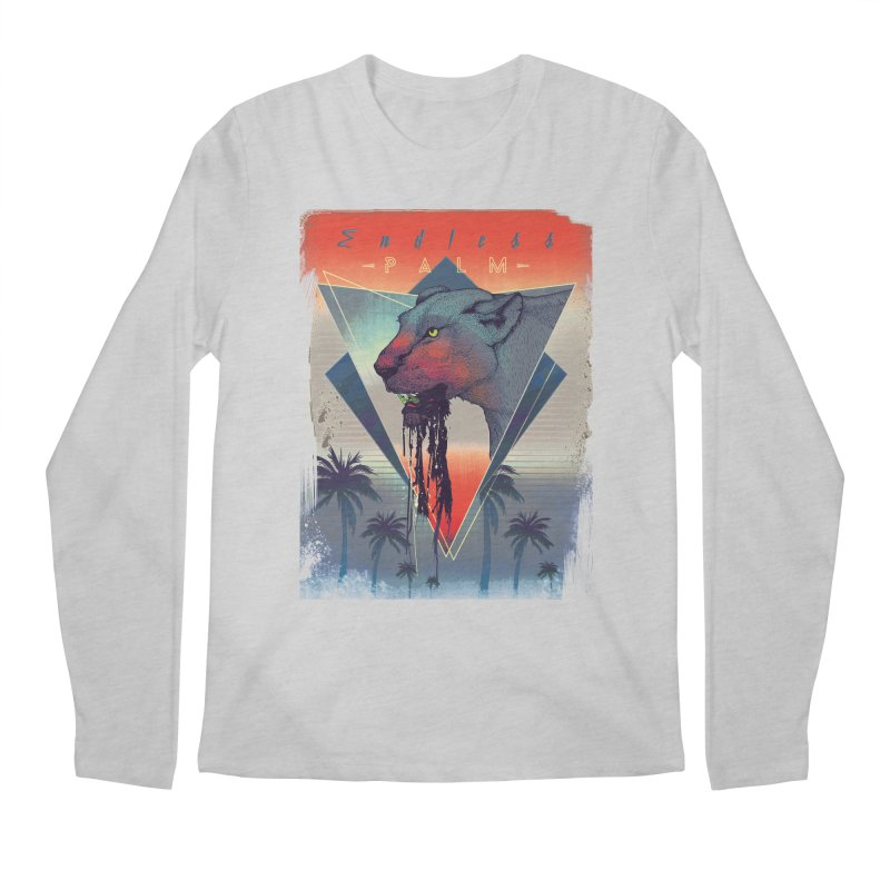 Endless Palm Men's Longsleeve T-Shirt by Dega Studios