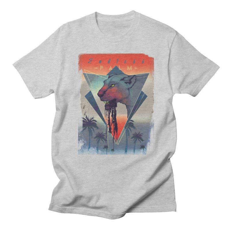 Endless Palm Men's T-Shirt by Dega Studios