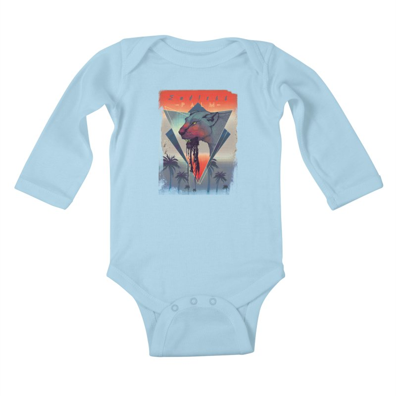 Endless Palm Kids Baby Longsleeve Bodysuit by Dega Studios