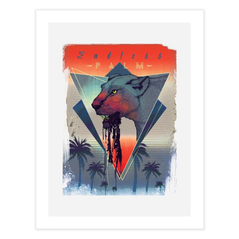 Endless Palm Home Fine Art Print by Dega Studios