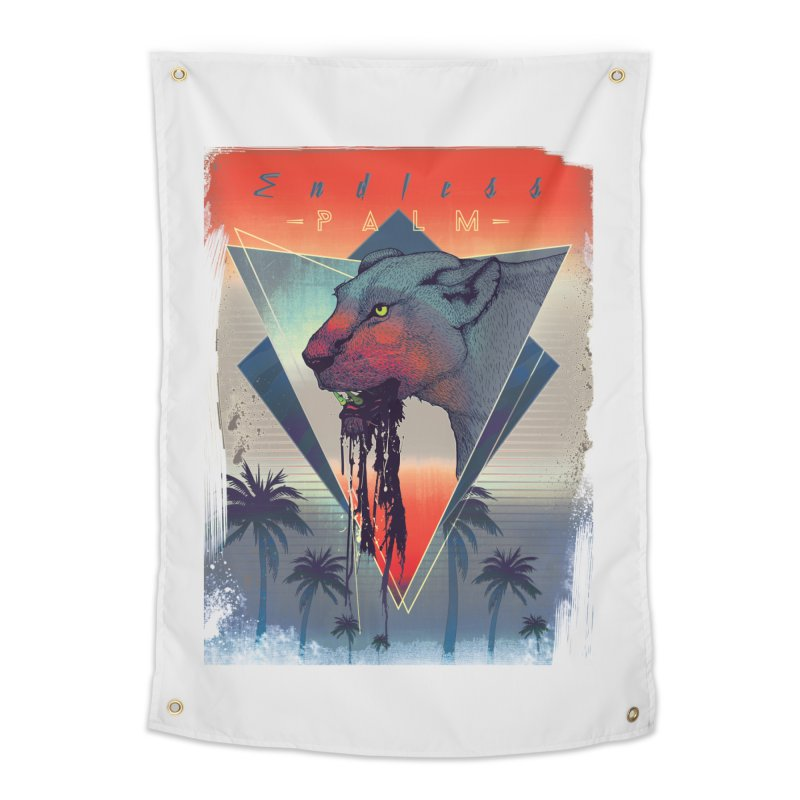 Endless Palm Home Tapestry by Dega Studios