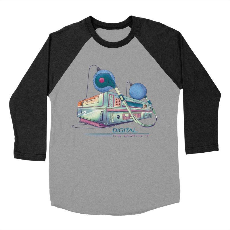 HIFI Women's Baseball Triblend Longsleeve T-Shirt by Dega Studios
