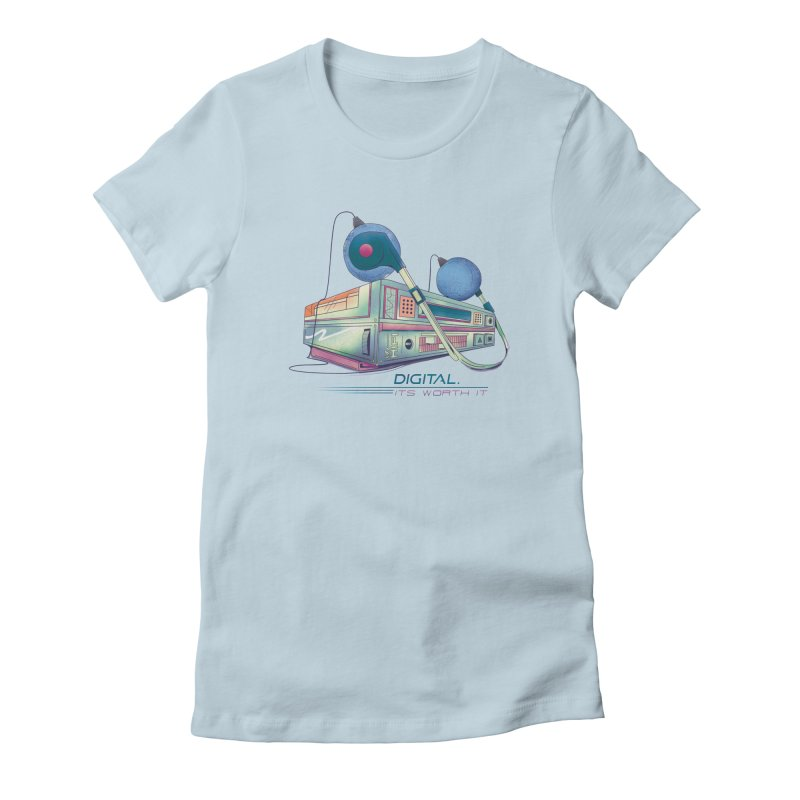 HIFI Women's Fitted T-Shirt by Dega Studios