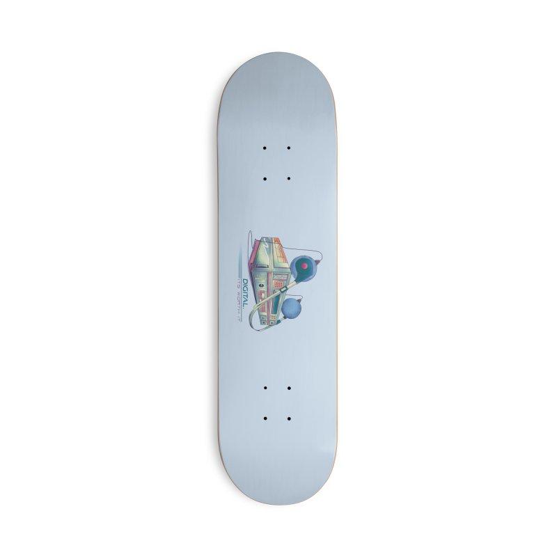HIFI Accessories Skateboard by Dega Studios