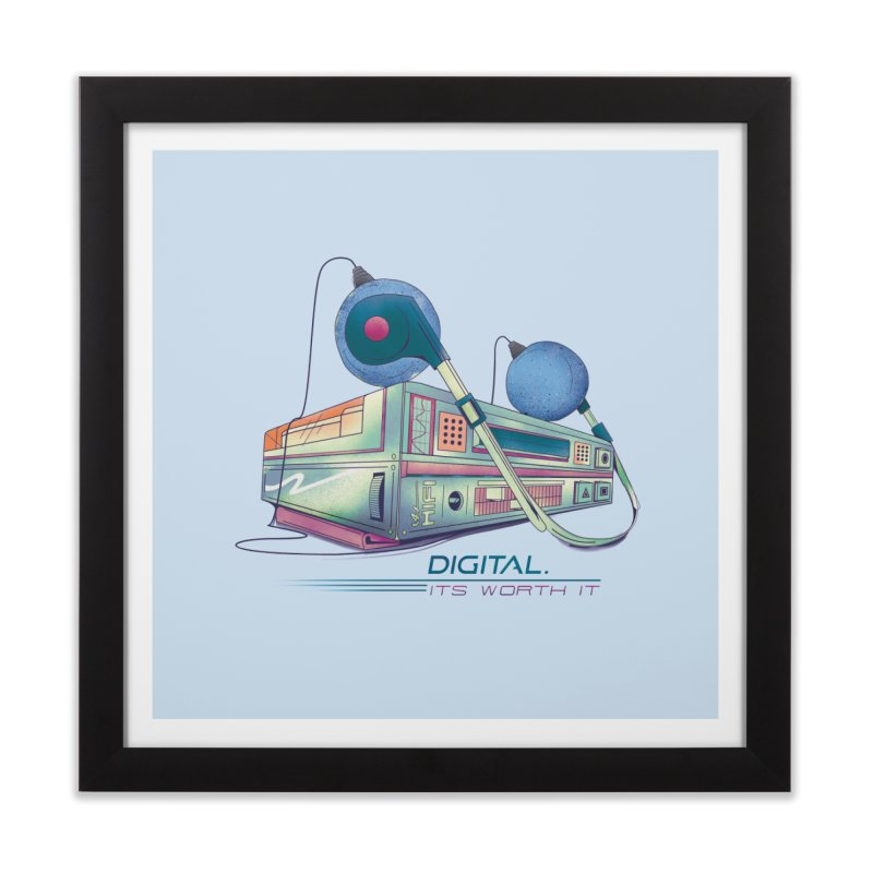 HIFI Home Framed Fine Art Print by Dega Studios