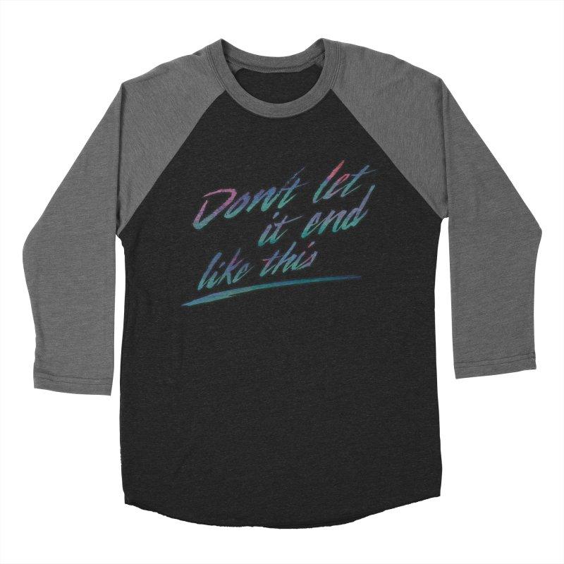 Last Words Women's Baseball Triblend Longsleeve T-Shirt by Dega Studios