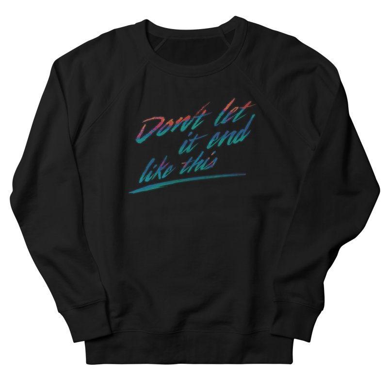 Last Words Men's Sweatshirt by Dega Studios