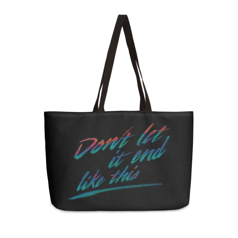 Last Words Accessories Bag by Dega Studios