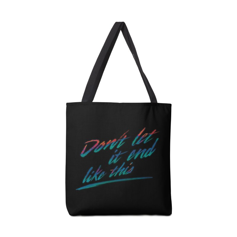 Last Words Accessories Bag by Dega Studios