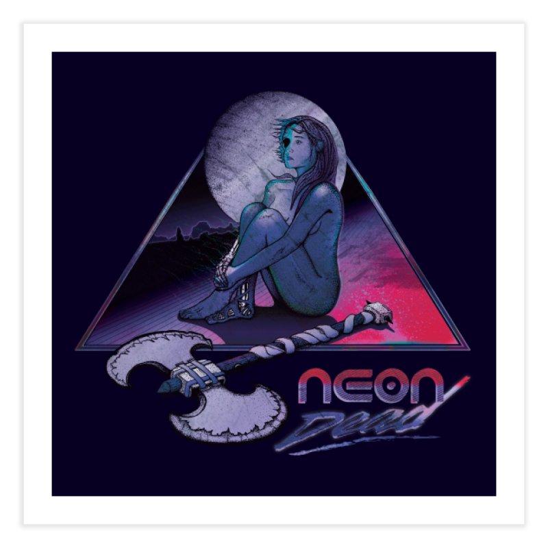 Neon Dead Nightmare Edition in Fine Art Print by Dega Studios
