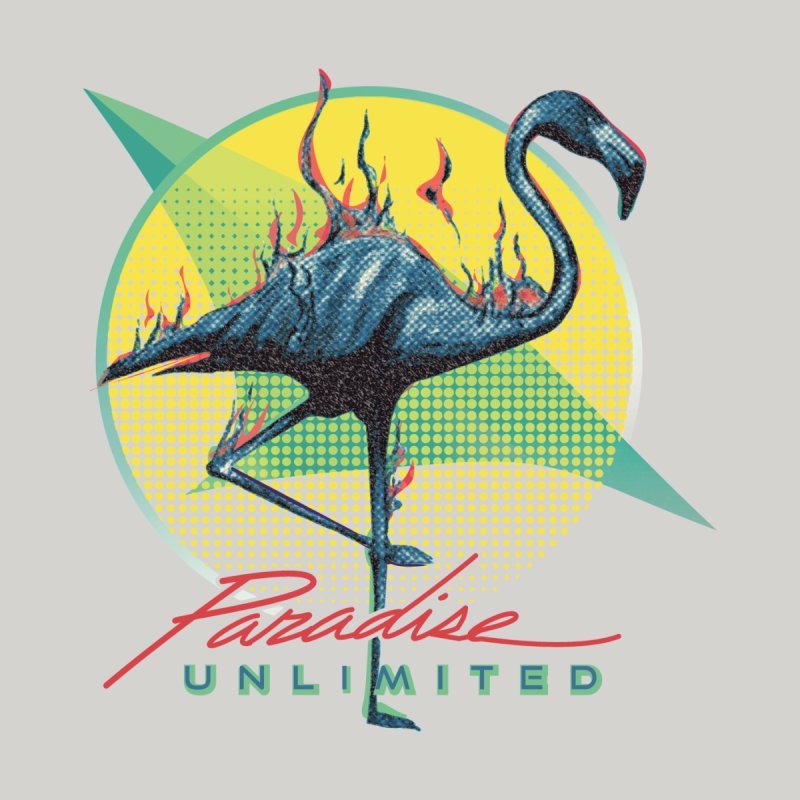 Paradise Unlimited Men's T-Shirt by Dega Studios