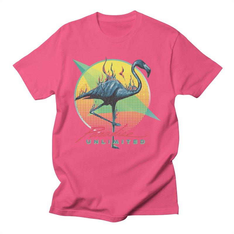 Paradise Unlimited Men's T-Shirt by Dega Studios