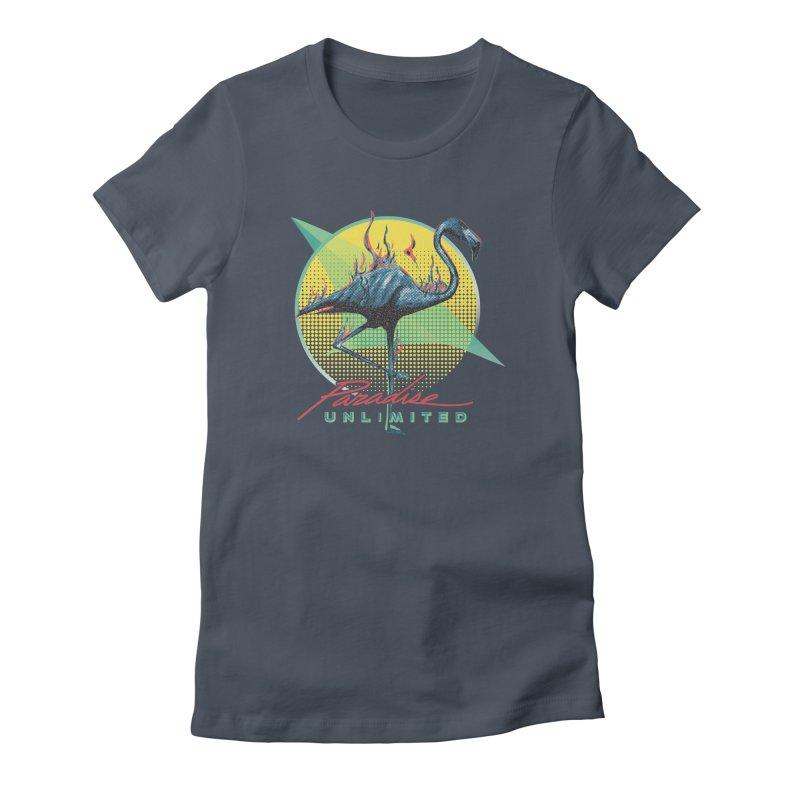 Paradise Unlimited Women's T-Shirt by Dega Studios