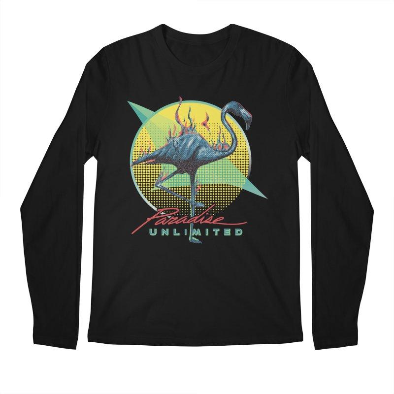Paradise Unlimited Men's Longsleeve T-Shirt by Dega Studios