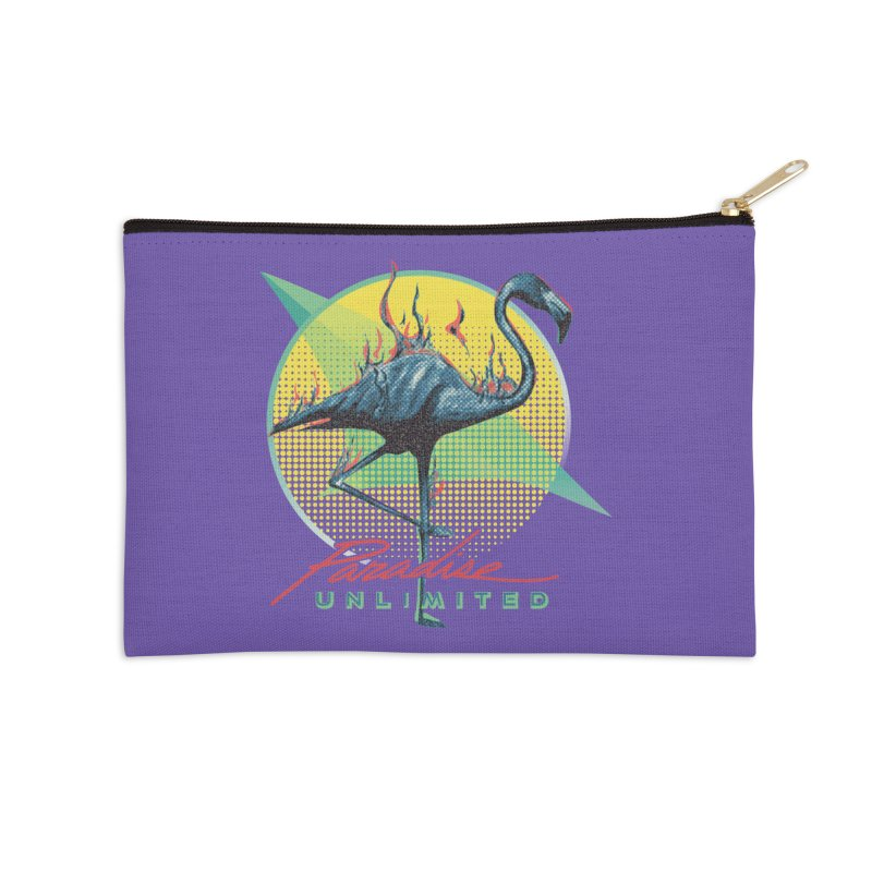 Paradise Unlimited Accessories Zip Pouch by Dega Studios