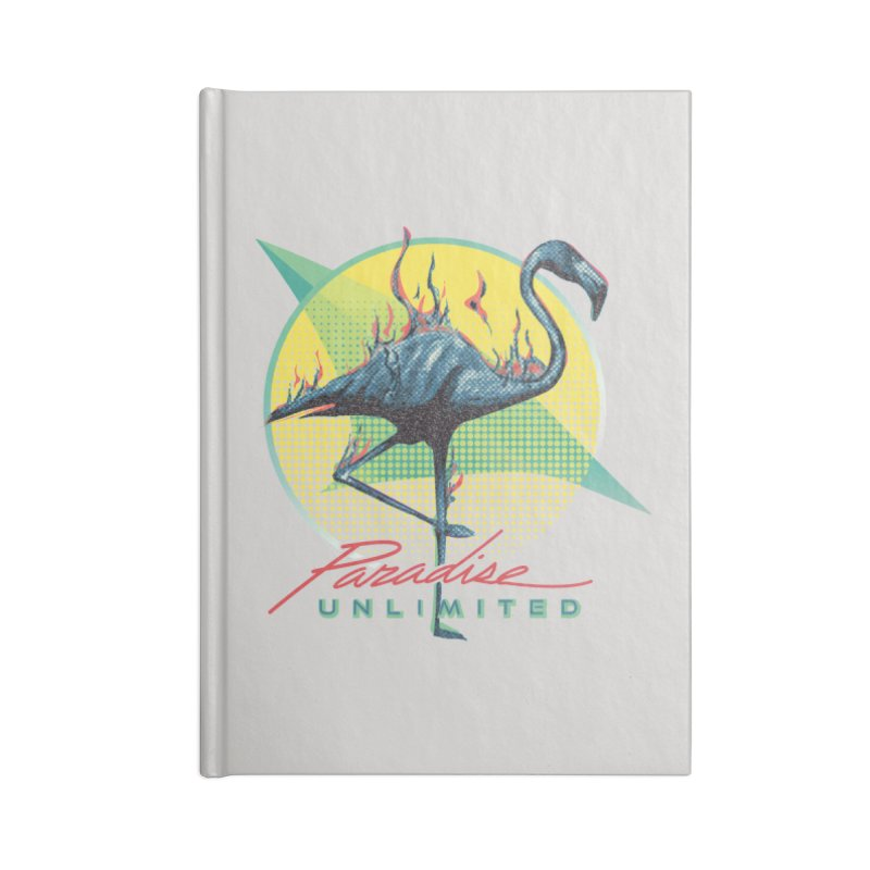 Paradise Unlimited Accessories Notebook by Dega Studios