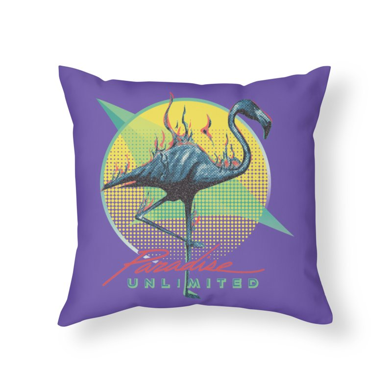 Paradise Unlimited Home Throw Pillow by Dega Studios