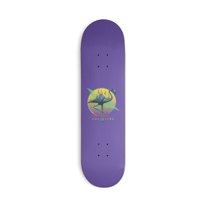 Paradise Unlimited Accessories Skateboard by Dega Studios