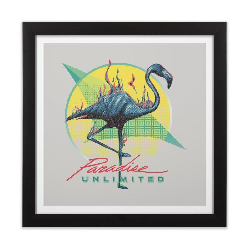 Paradise Unlimited Home Framed Fine Art Print by Dega Studios