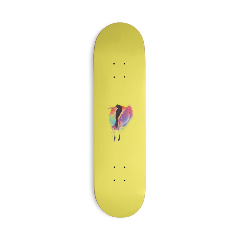 The Watcher Accessories Skateboard by Dega Studios