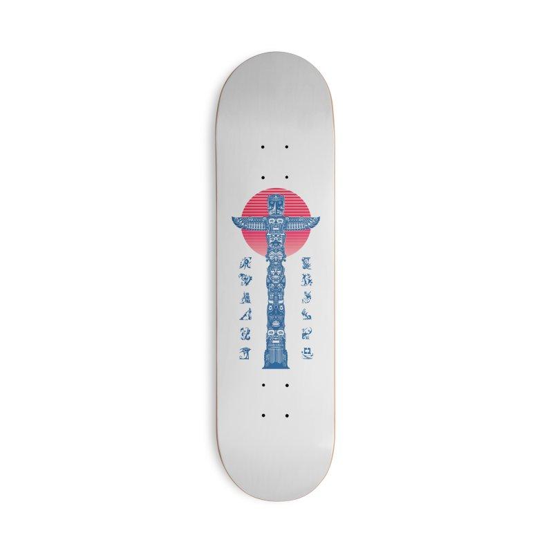 Totem Reserrection Accessories Skateboard by Dega Studios