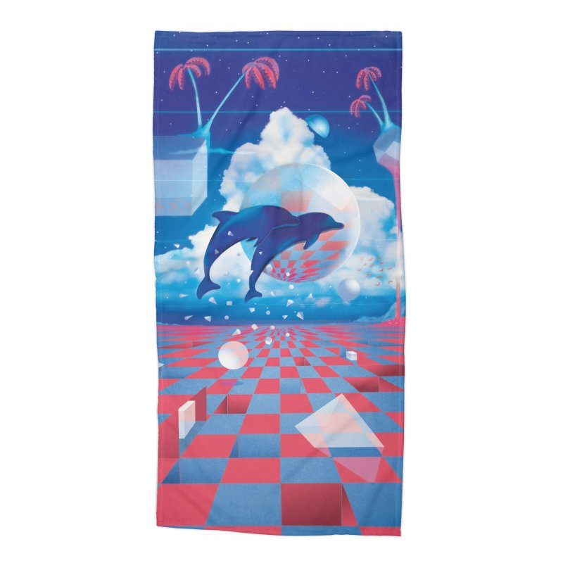 Kepler-307 Accessories Beach Towel by Dega Studios