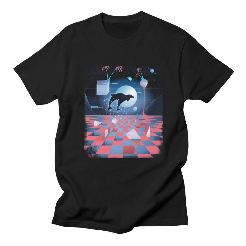 Kepler-307 in Men's Regular T-Shirt Black by Dega Studios