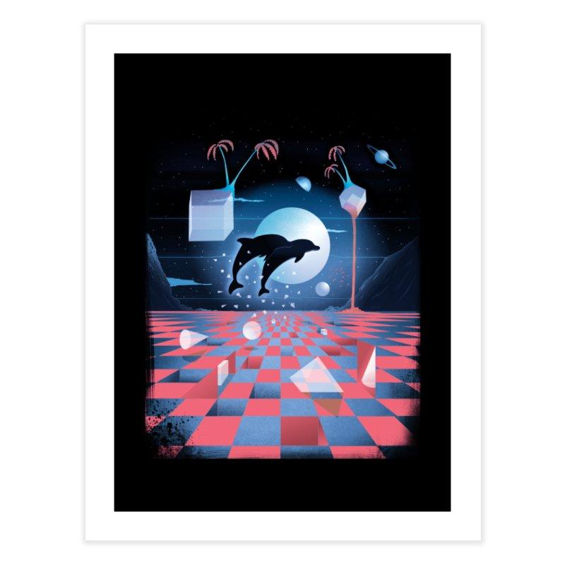 Kepler-307 Home Fine Art Print by Dega Studios