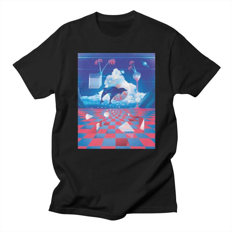 Kepler-307 Men's T-Shirt by Dega Studios