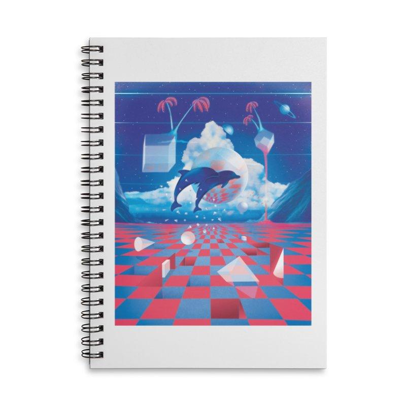 Kepler-307 Accessories Notebook by Dega Studios