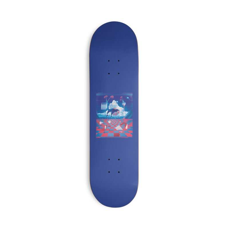 Kepler-307 Accessories Skateboard by Dega Studios