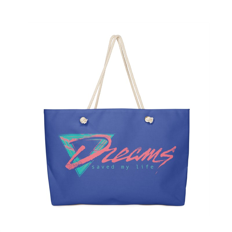 Dreams Saved My Life Accessories Bag by Dega Studios