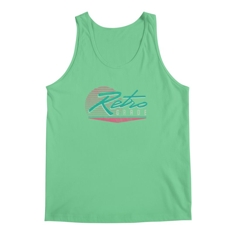 Retro Grade Men's Regular Tank by Dega Studios