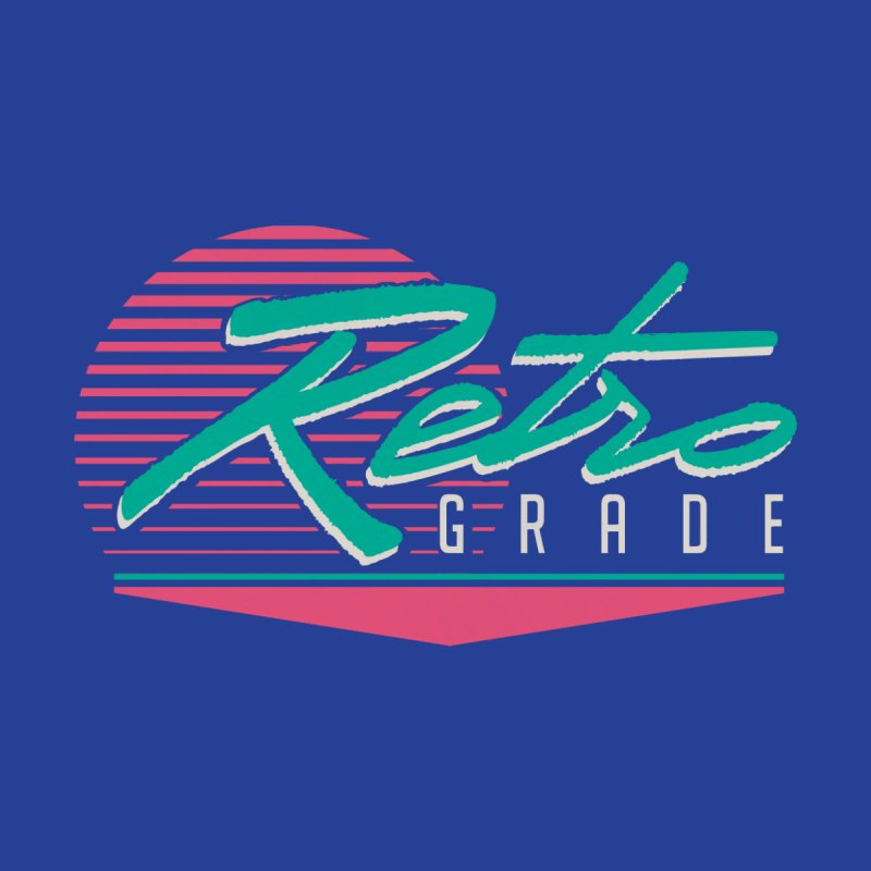 Retro Grade Kids T-Shirt by Dega Studios