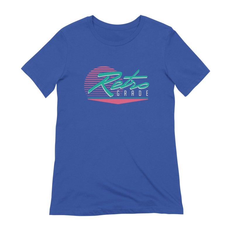 Retro Grade Women's Extra Soft T-Shirt by Dega Studios