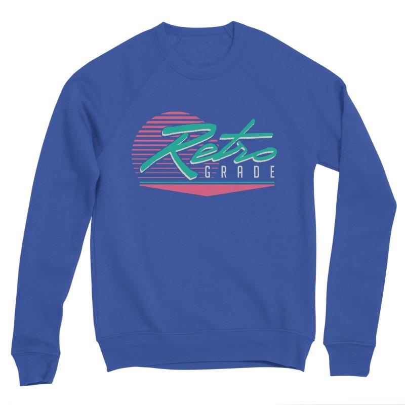 Retro Grade Men's Sweatshirt by Dega Studios