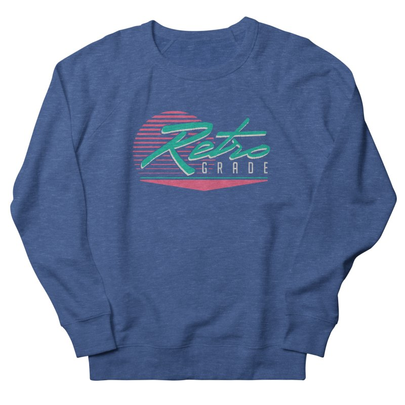 Retro Grade Men's Sweatshirt by Dega Studios