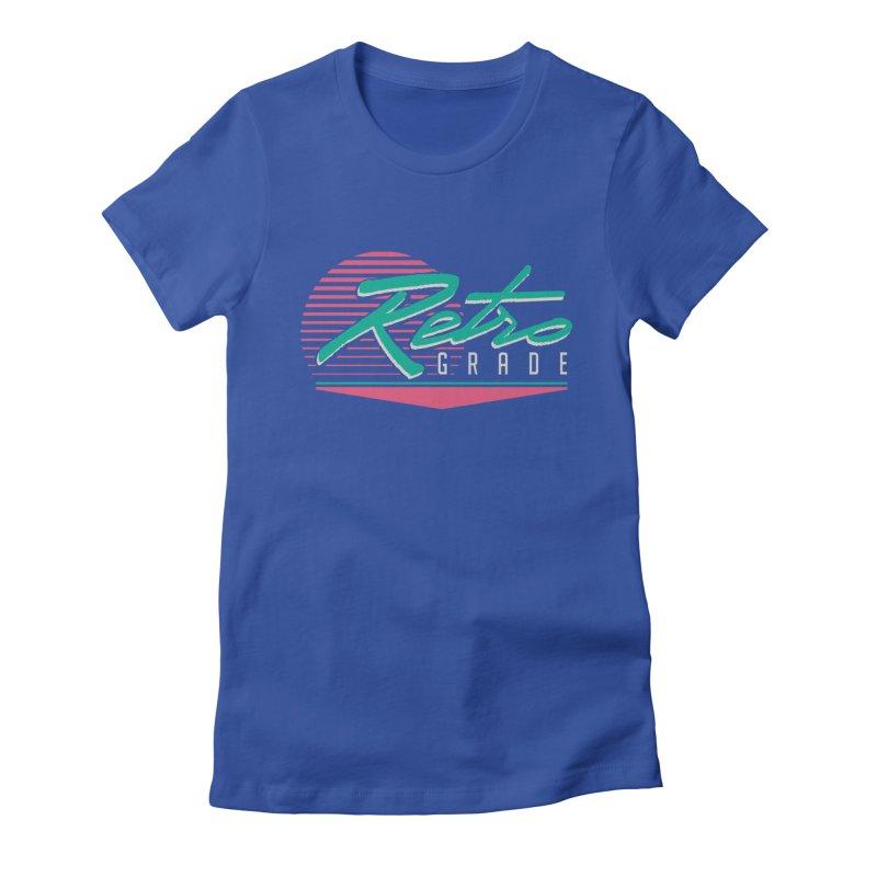 Retro Grade Women's T-Shirt by Dega Studios