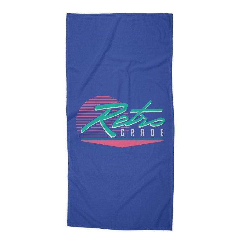 Retro Grade Accessories Beach Towel by Dega Studios