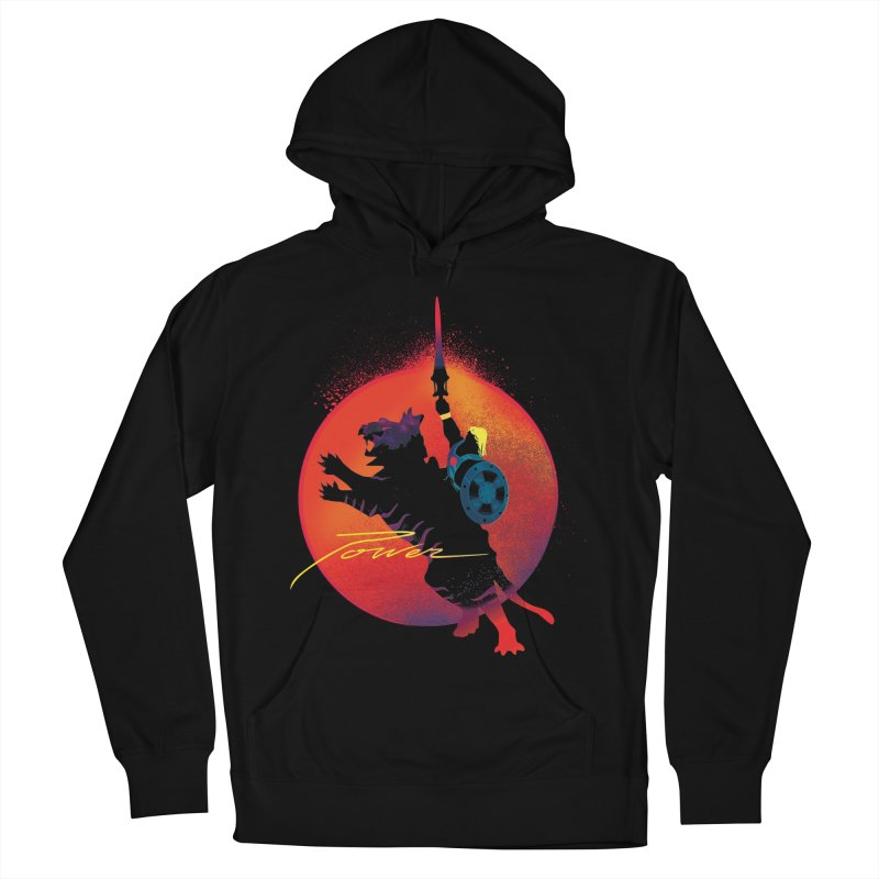 Power Men's French Terry Pullover Hoody by Dega Studios