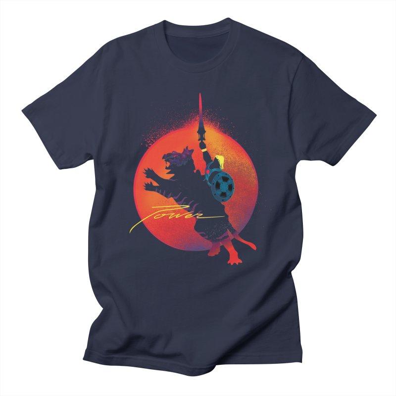 Power Men's Regular T-Shirt by Dega Studios
